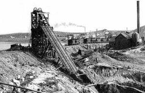 Building a Lunar iron mine