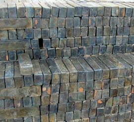 Processed cast basalt
